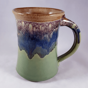 Clay in Motion Large Mug in Mountain Meadow