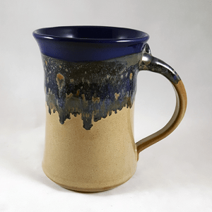Clay in Motion Large Mug in Cobalt Canyon