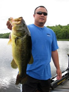 Take day trips to go fishing at Cedar Grove Camp
