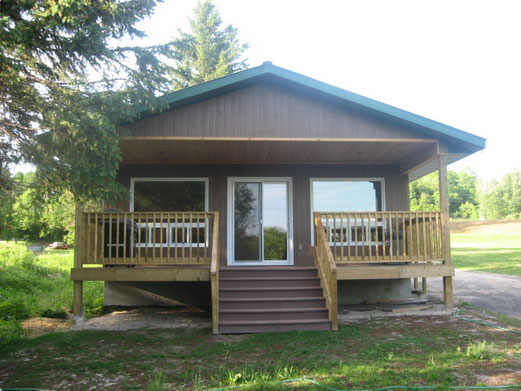 Edwards Edge Cottage at Cedar Grove Camp in Restoule Ontario
