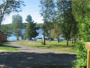 Prize Pickerel Cottage view