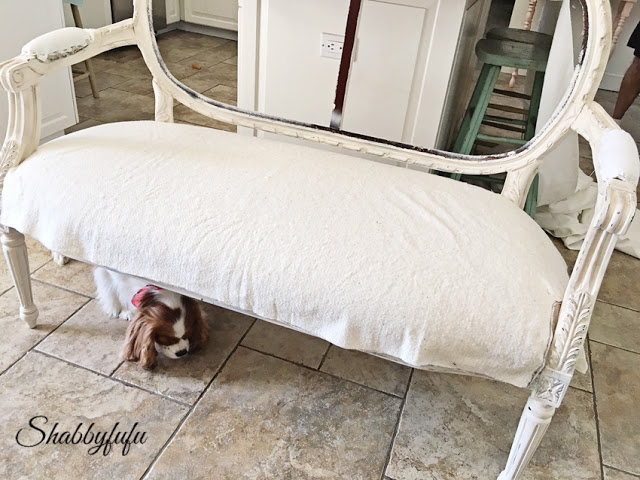 how to upholster a sofa