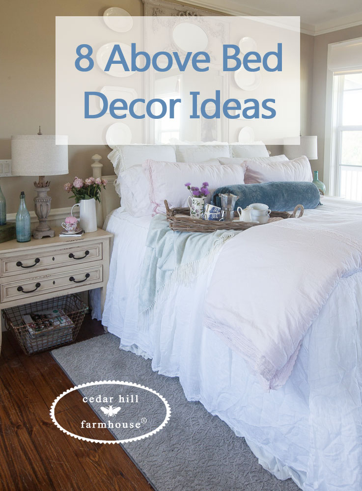 bedroom above the bed wall decor ideas