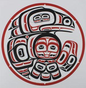 Haida Gwaii Raven, Alvin Child, Raven, Native Art Print, Indigenous Art, Northwest Coast Art, First Nations Art, Native American Art