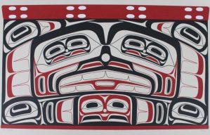 Haida Chest, Alvin Child, Native Art Print, Indigenous Art, Northwest Coast Art, First Nations Art, Native American Art