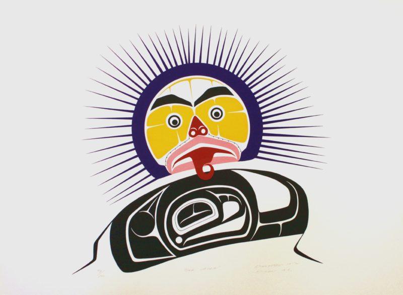 Sea Urchin, Art Thompson, Native Art Print, Indigenous Art, Northwest Coast Art, First Nations Art, Native American Art