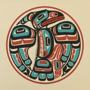 Raven, Eugene Hunt, Native Art Print, Indigenous Art, Northwest Coast Art, First Nations Art, Native American Art