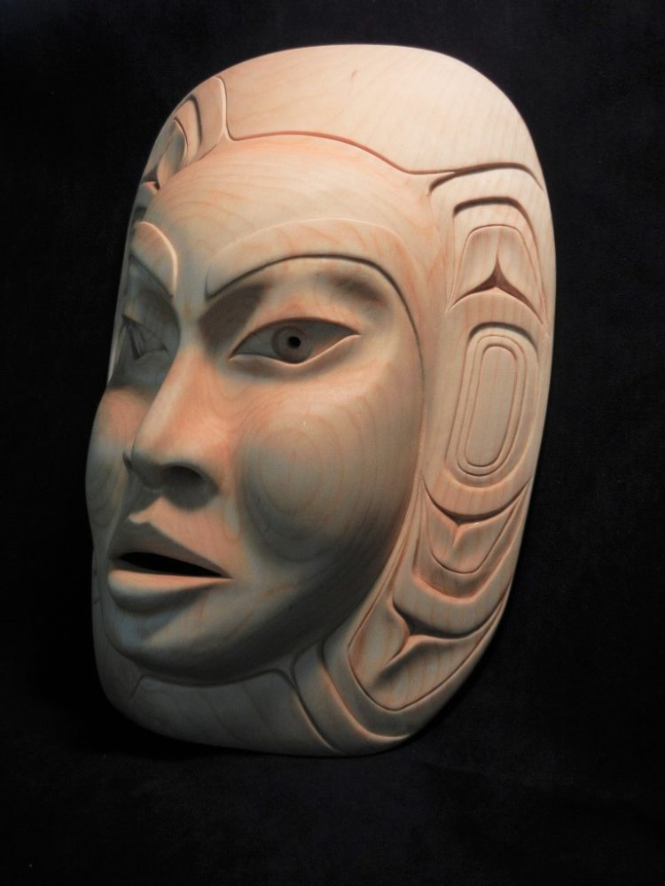 Moon Mask by Carol Young