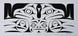 Thunder, Dylan Thomas, Native Art Print, Indigenous Art, Northwest Coast Art, First Nations Art, Native American Art