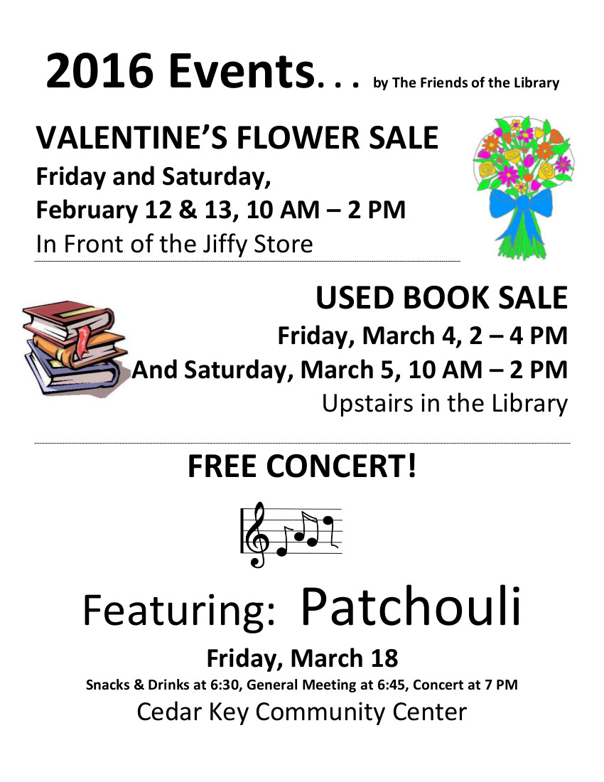 JAN 12 FOL Book Sale Poster 2016