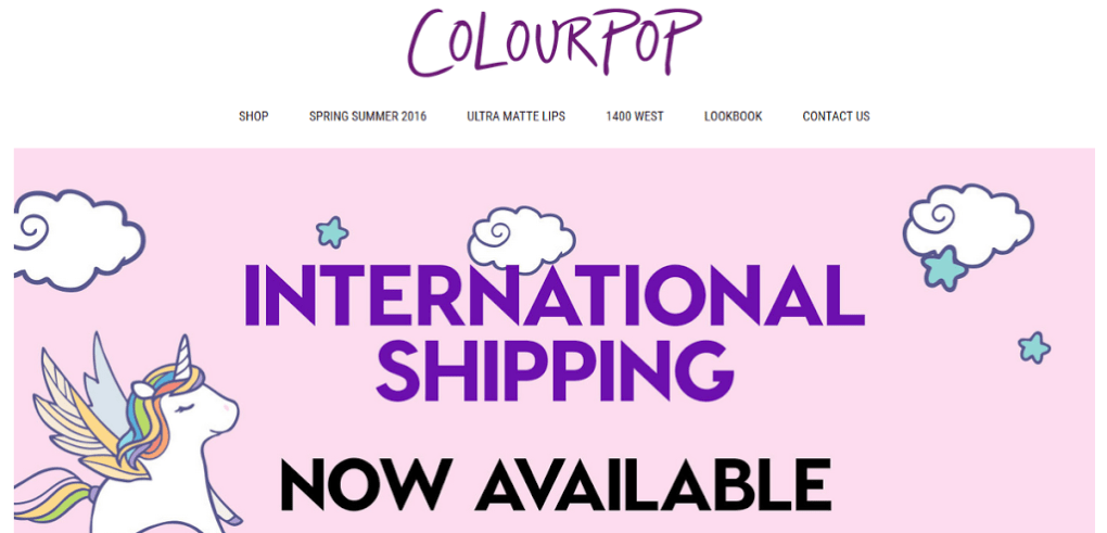 what to know about colourpop international shipping and rates, colourpop shipping to nigeria