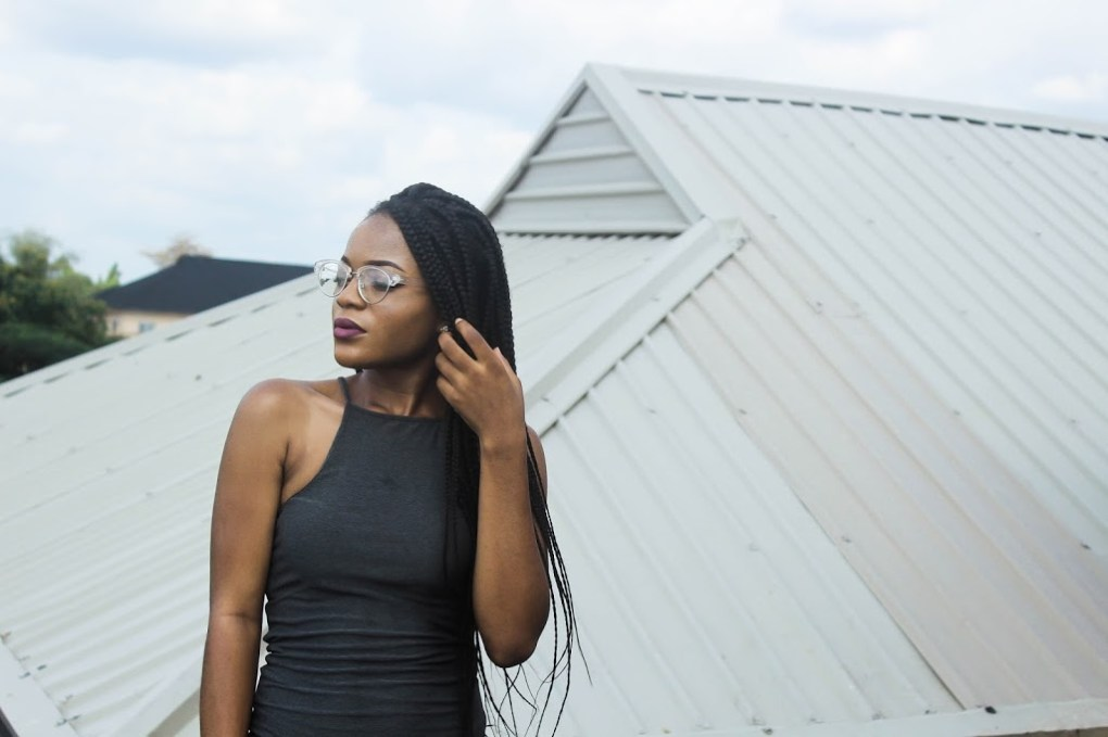 female african fashion blogger