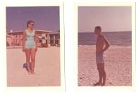 25phl&shrn on beach '60