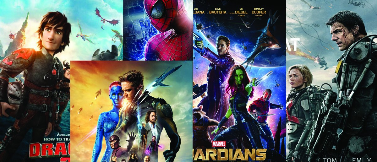 Top 5 Movies 2014 Summer