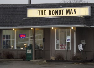 The Donut Man storefront