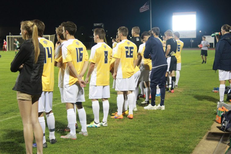 Cedarville defeated Mercyhurst Tuesday night 4-3. (Photo: Alex Weber)