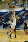 Breanne Watterworth powers her way to the bucket.