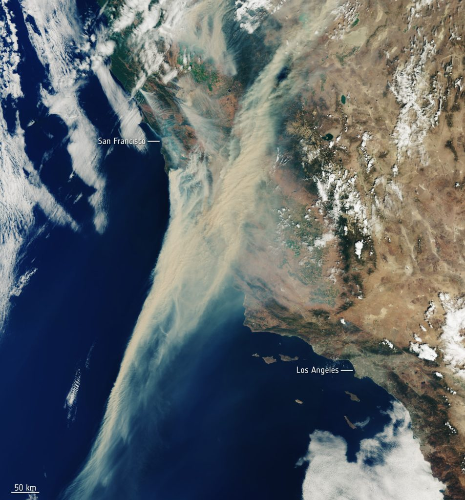 The Dual Wildfires on the West Coast: God's Promises in the Fire