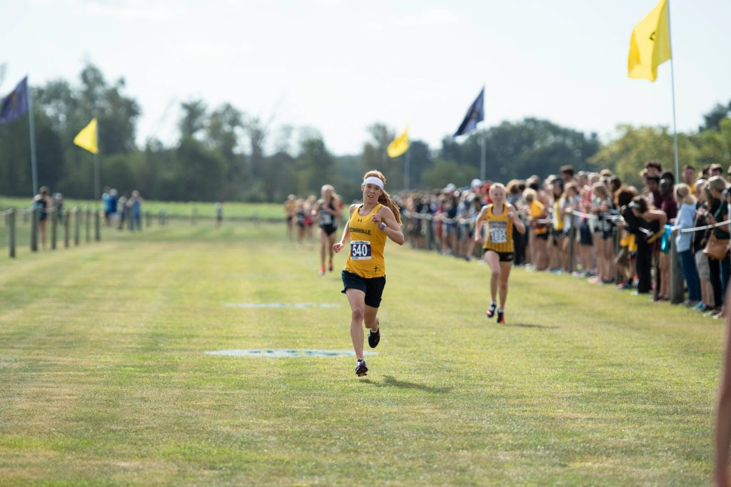 Ackley Leads Lady Jackets' Cross-Country Season