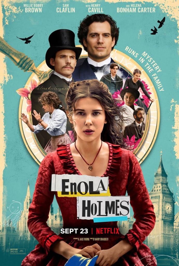 """Enola Holmes"" Review: ""Stranger Things"" Star Shines as Sherlock's Little Sister"