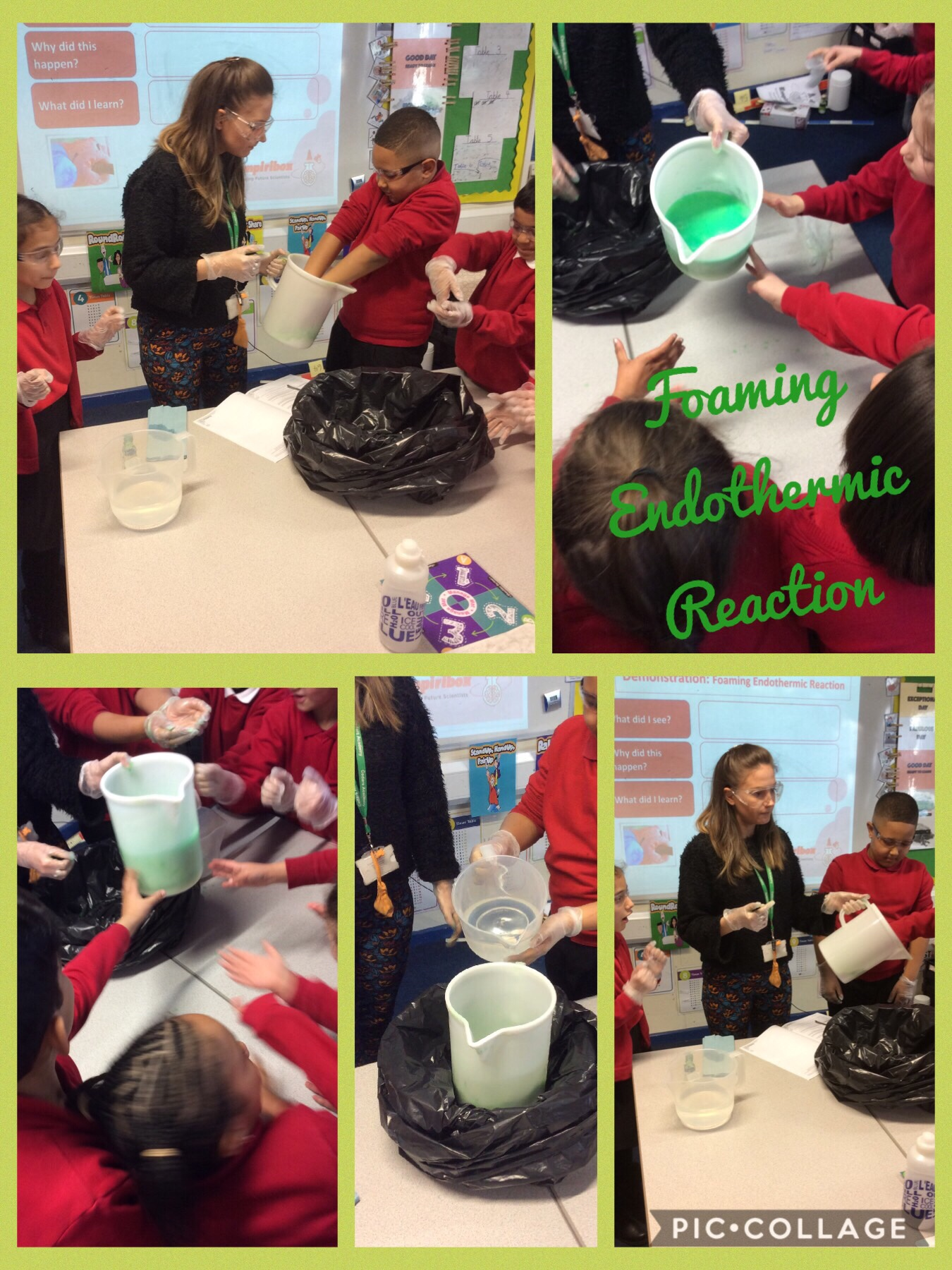 Endothermic And Exothermic Reactions Welcome To 3ac S
