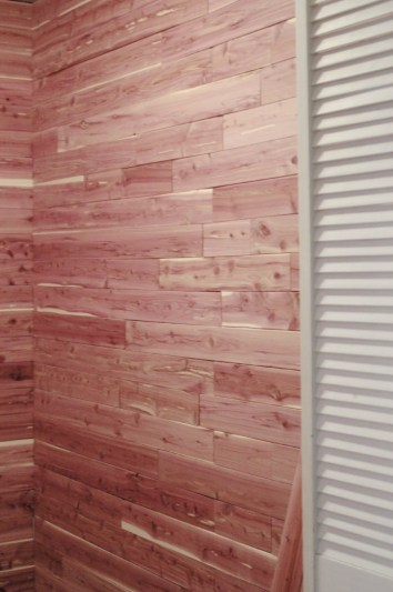 Cedar Lined Closet Makeover