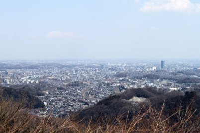 The best spot to see just how vast Tokyo is.