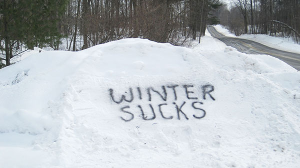 Image result for winter sucks
