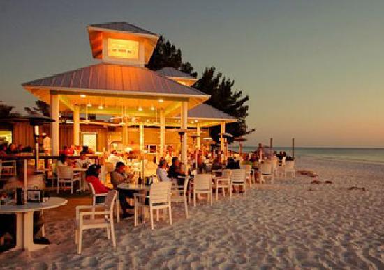 Sandbar Restaurant Longboat Key Romance