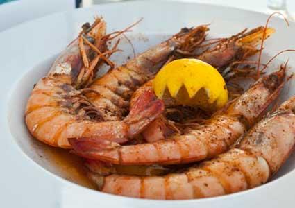 Sandbar Restaurant Longboat Key shrimp