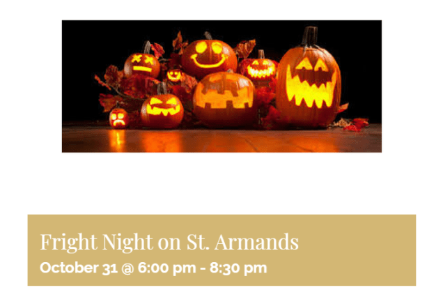 fright night on st. armands circle