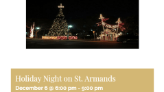 holiday nights on st armands