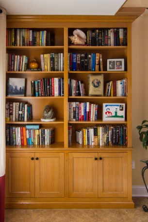 bookshelves by cedars - How To Make Custom Built In Bookshelves