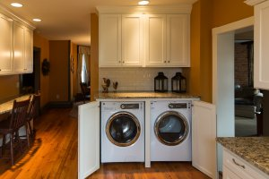 Custom Laundry Area