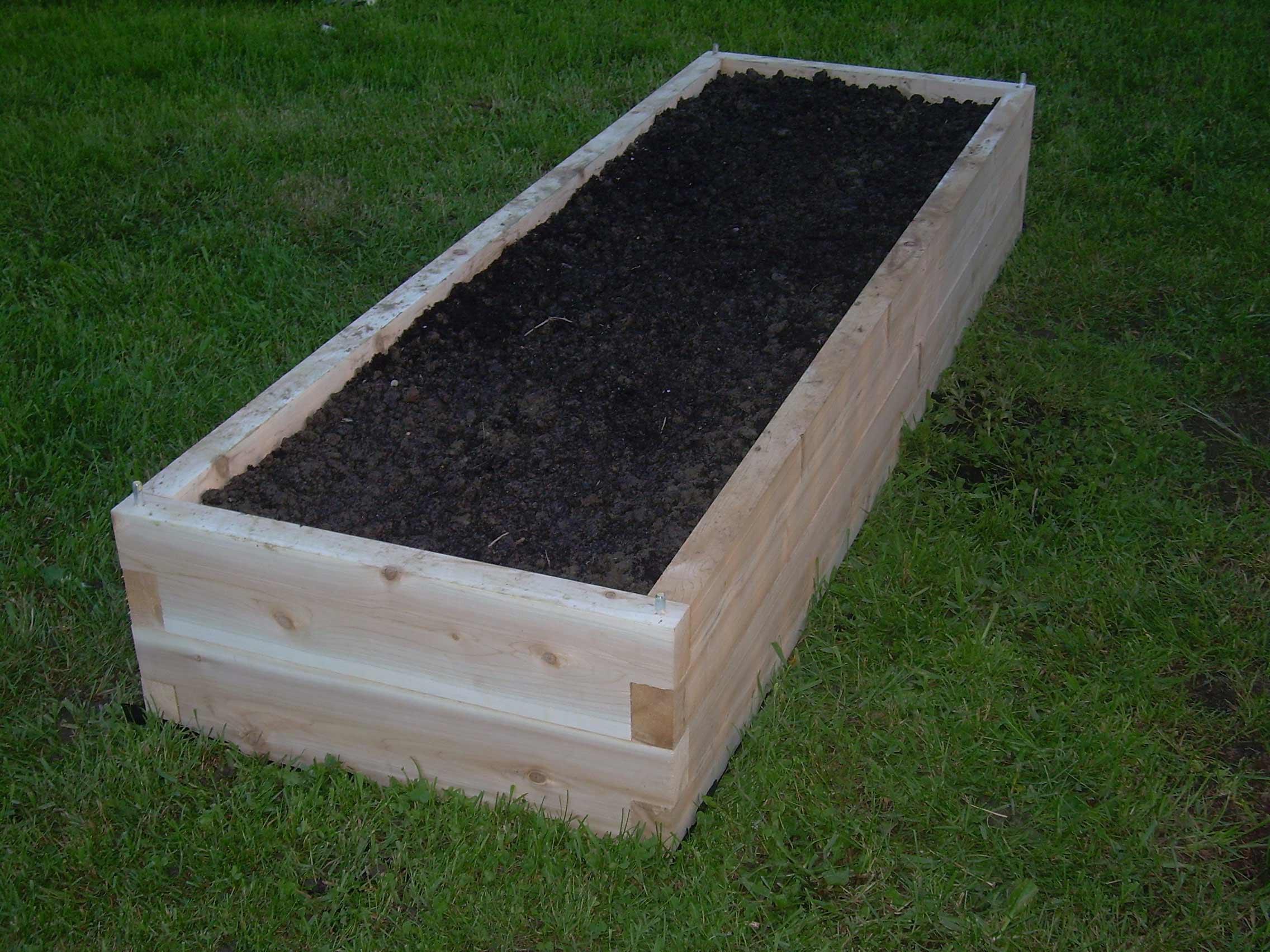 Raised Bed Garden Kits Home Depot Terrasse En Bois