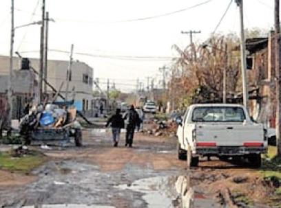 Estado de las calles de los barrios