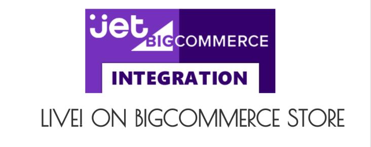 jet bigcommerce integration