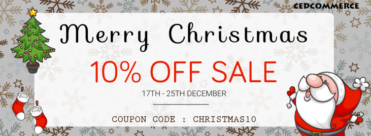 CHRISTMAS DISCOUNTS