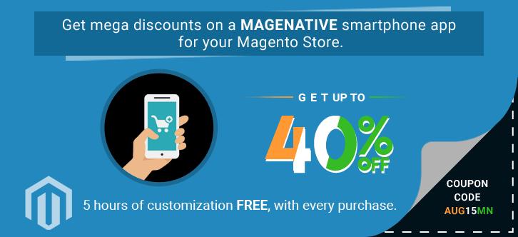 Magento Mobile App for e-commerce store