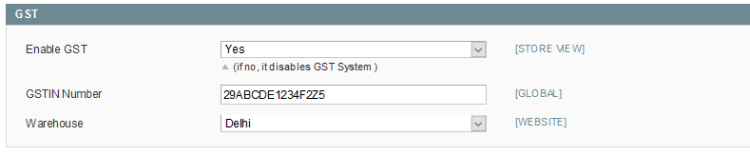 Indian GST Magento Extension