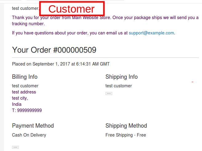 Vendor Order Addon