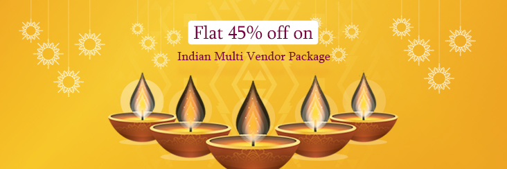offers on Indian Multivendor Marketplace Package