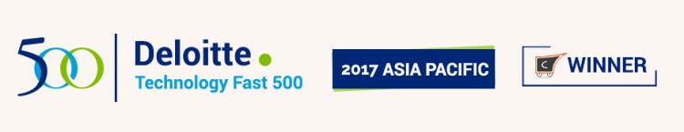 Deloitte Fast 500 APAC winner!