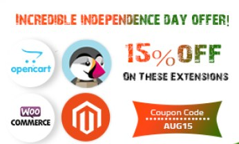 15 OFF INCREDIBLE INDEPENDENCE DAY OFFER