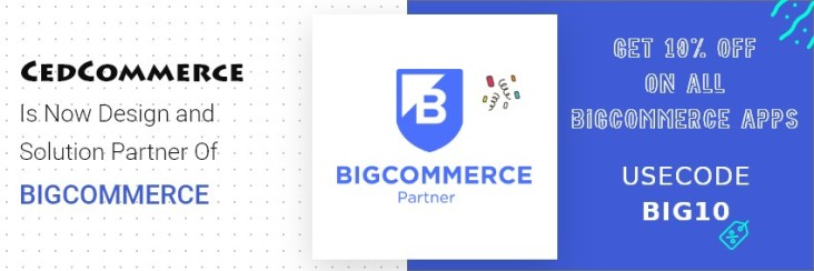 BigCommerce named CedCommerce as their Official Design and Solution Partner