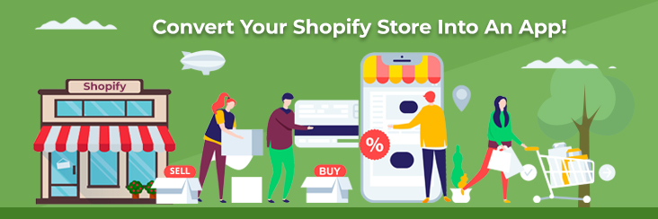 how to convert your shopify store into an app