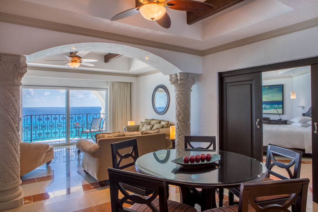 Hyatt-Zilara-Cancun-Presidential-Suite-Dining-Area