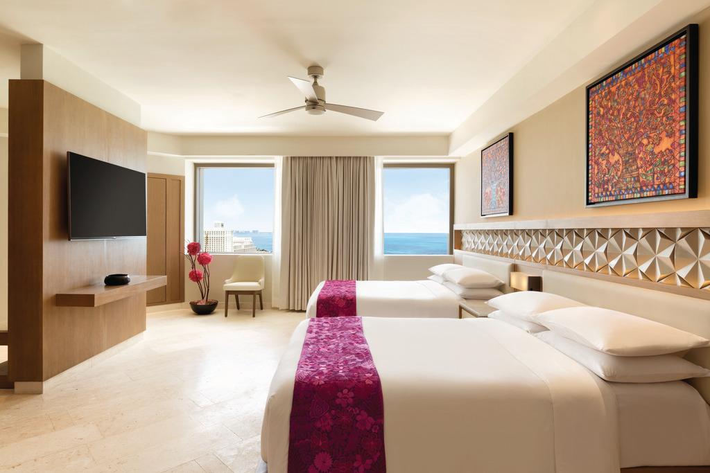 Hyatt-Ziva-Cancun-Presidential-Suite-Second-Bedroom