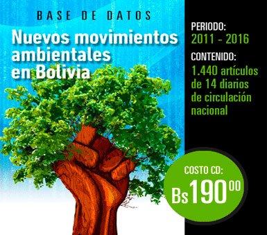 Nuevos movimientossociales ambientales en Bolivia: Base de datos hemerográfica