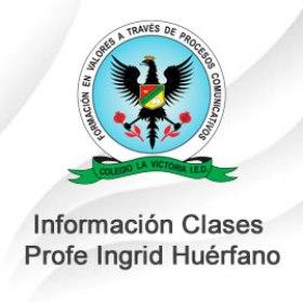 Clases Profe. Ingrid Huérfano